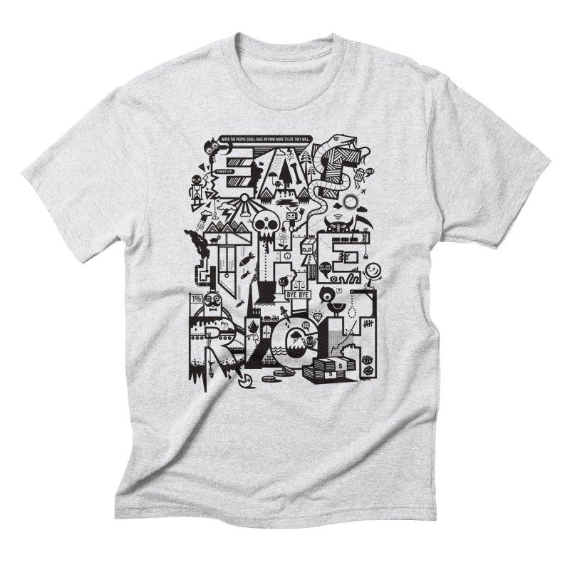 Eat the Rich Men's Triblend T-Shirt by wotto's Artist Shop