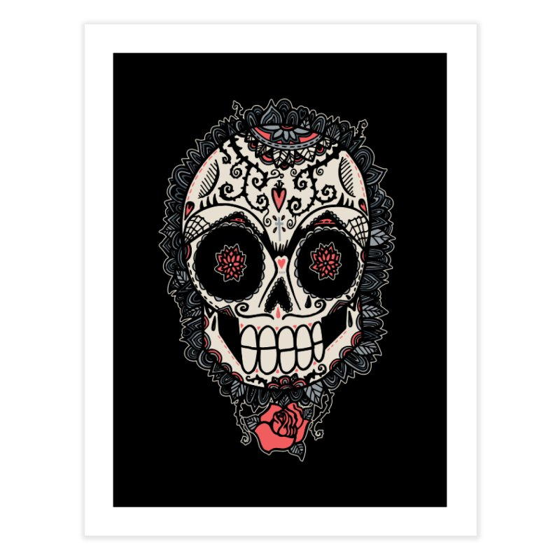 Muerte Acecha Home Fine Art Print by wotto's Artist Shop