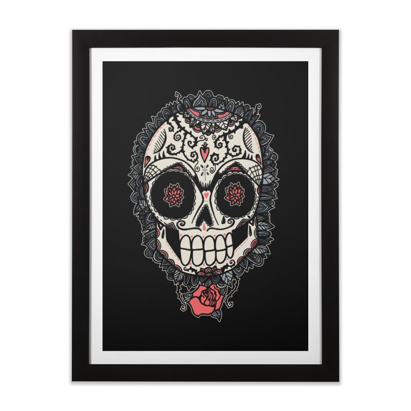 Muerte Acecha Home Framed Fine Art Print by wotto's Artist Shop