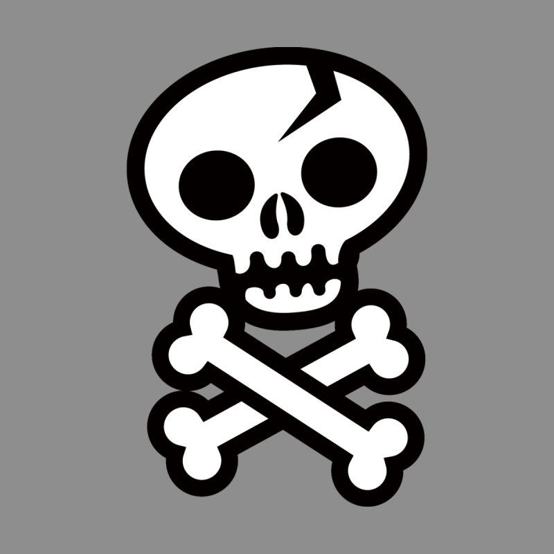 Skull & Crossbones by wotto's Artist Shop