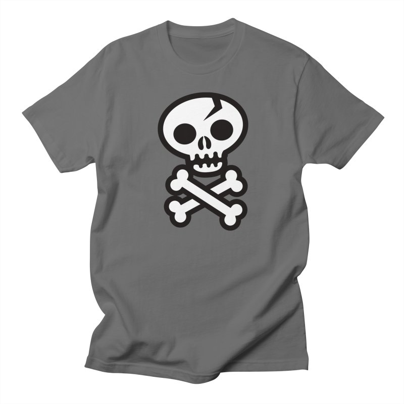 Skull & Crossbones Men's T-Shirt by wotto's Artist Shop