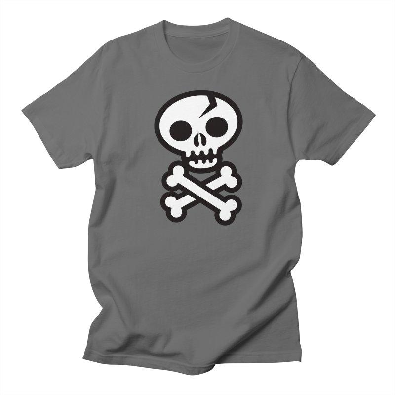 Skull & Crossbones Men's T-shirt by wotto's Artist Shop
