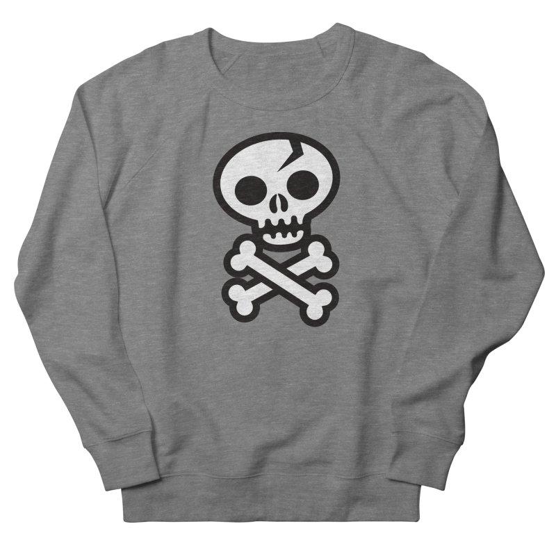 Skull & Crossbones Men's French Terry Sweatshirt by wotto's Artist Shop