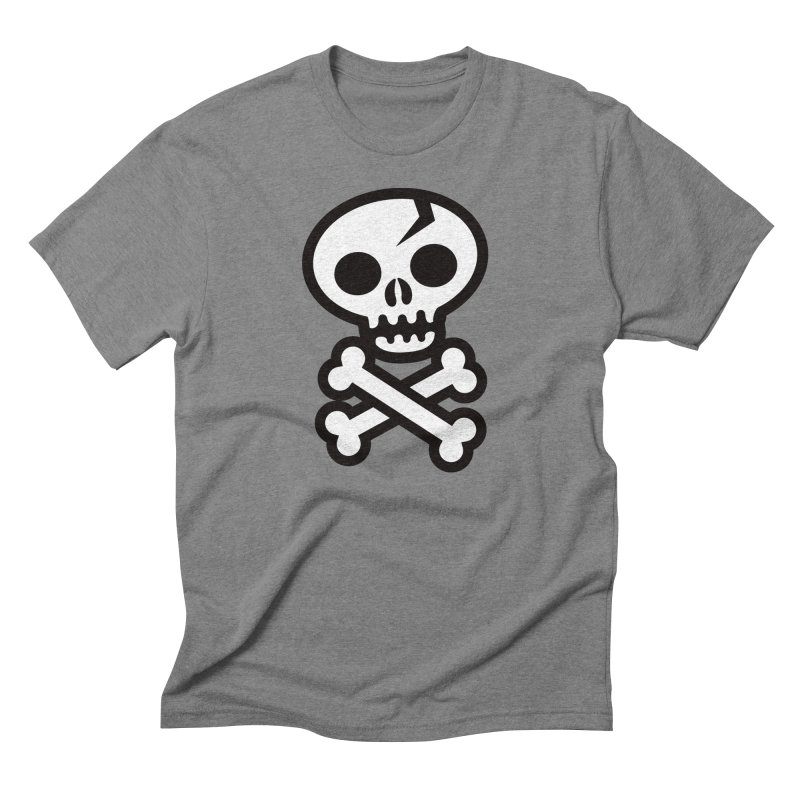 Skull & Crossbones Men's Triblend T-shirt by wotto's Artist Shop