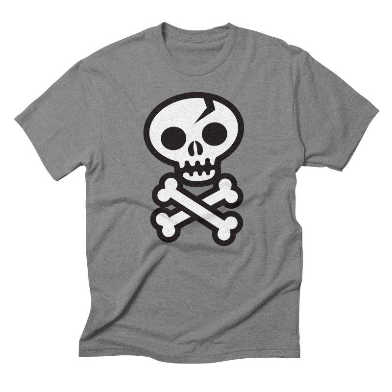 Skull & Crossbones Men's Triblend T-shirt by wotto's Artist Shop