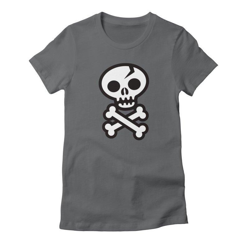 Skull & Crossbones Women's T-Shirt by wotto's Artist Shop