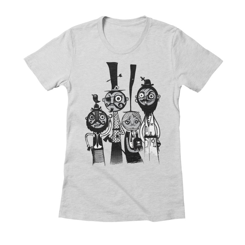 The Scoundrels Women's Fitted T-Shirt by wotto's Artist Shop