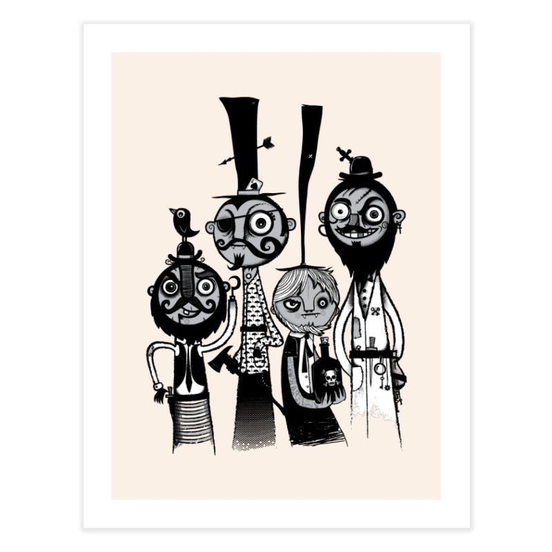 The Scoundrels Home Fine Art Print by wotto's Artist Shop