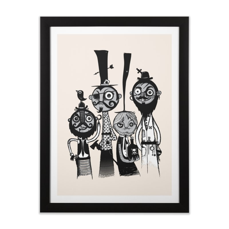 The Scoundrels Home Framed Fine Art Print by wotto's Artist Shop