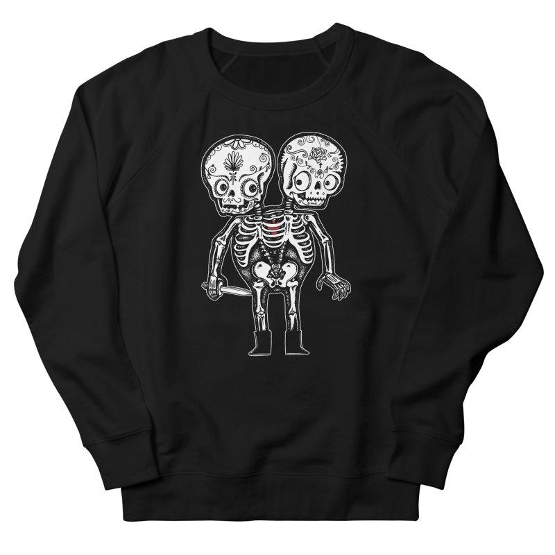 Calavera Twins Men's Sweatshirt by wotto's Artist Shop