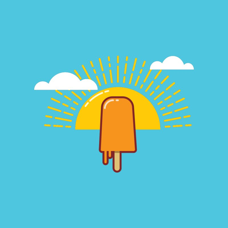 The Popsicle Shirt by wpcreative's Artist Shop
