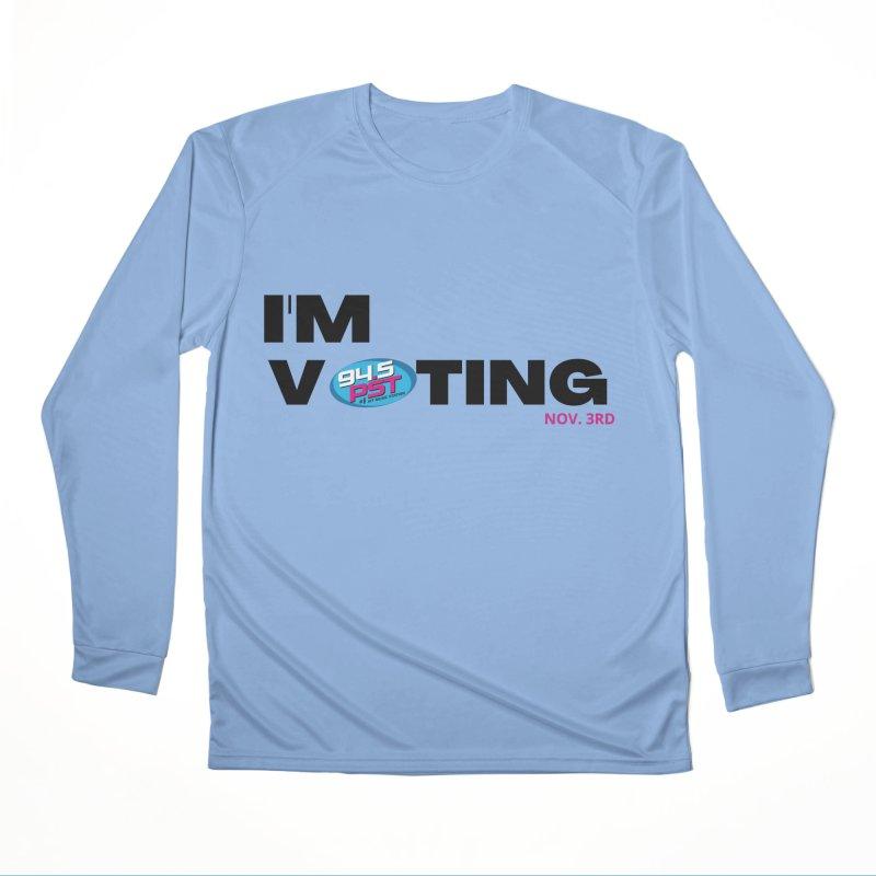 I'm Voting Women's Longsleeve T-Shirt by WPST's Shop