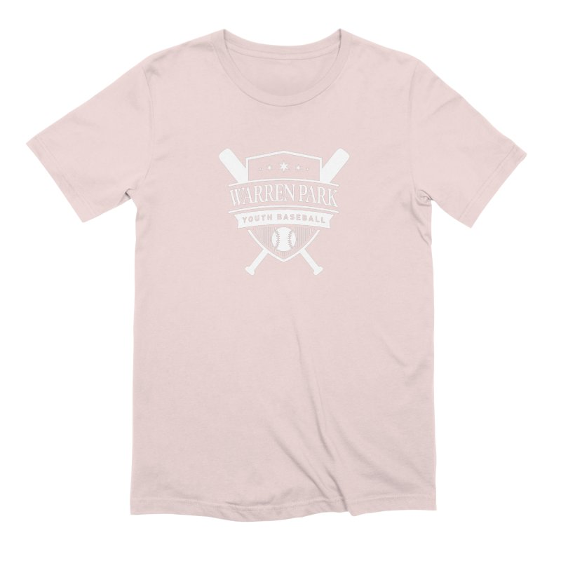 Warren Park Youth Baseball Logo - White Men's Extra Soft T-Shirt by Warren Park Youth Baseball, Rogers Park Chicago