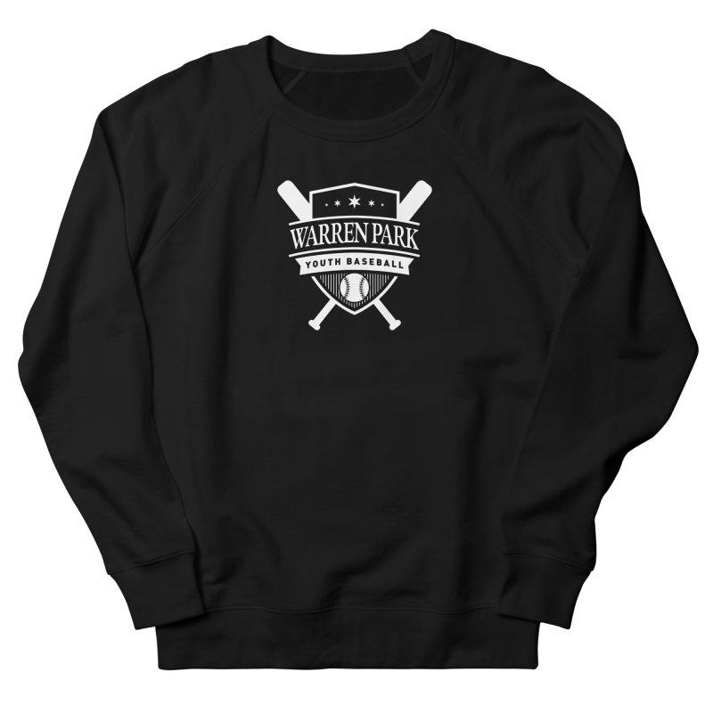 Warren Park Youth Baseball Logo - White Women's French Terry Sweatshirt by Warren Park Youth Baseball, Rogers Park Chicago