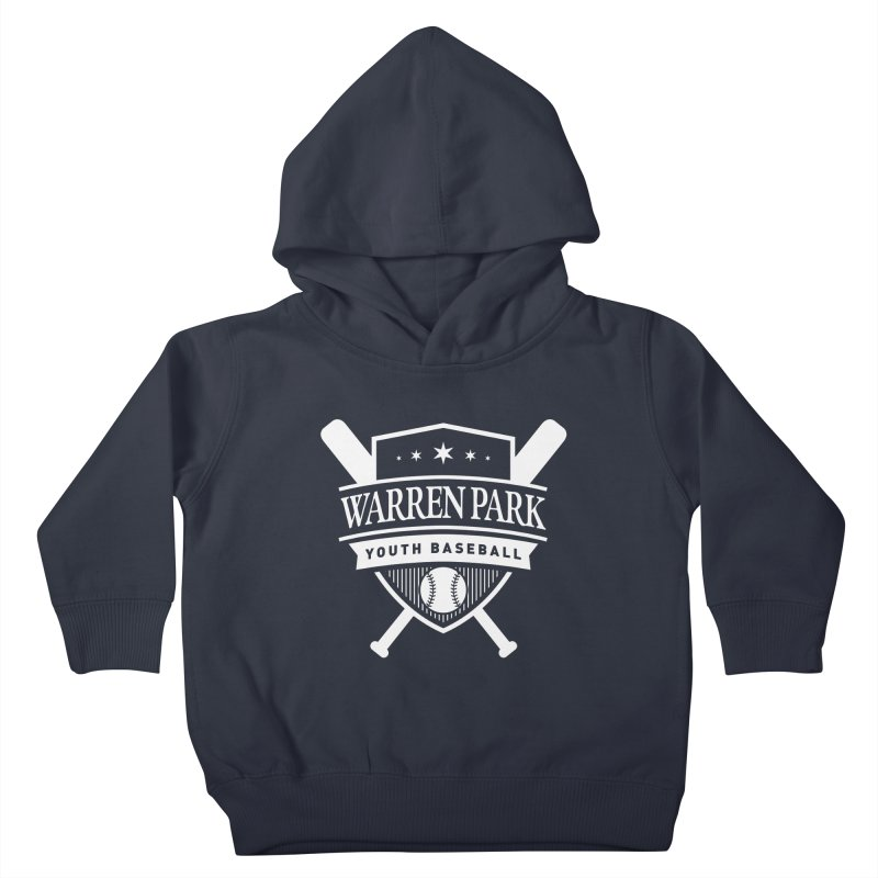 Warren Park Youth Baseball Logo - White Kids Toddler Pullover Hoody by Warren Park Youth Baseball, Rogers Park Chicago