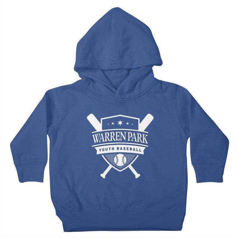 Warren Park Youth Baseball Logo - White Kids Toddler Pullover Hoody by Warren Park Youth Baseball, Rogers Park Chicago