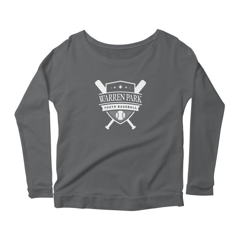 Warren Park Youth Baseball Logo - White Women's Longsleeve T-Shirt by Warren Park Youth Baseball, Rogers Park Chicago