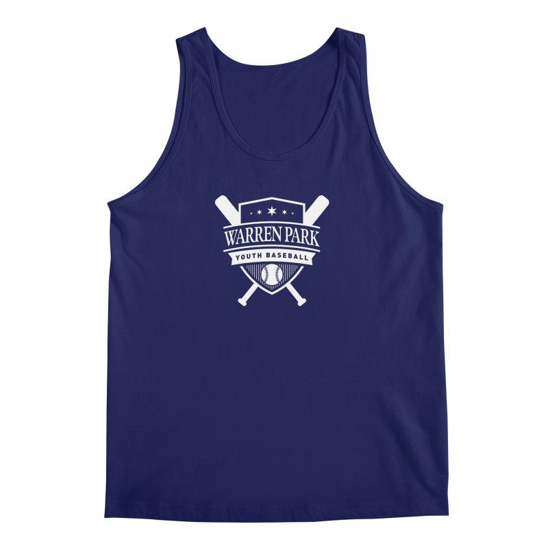 Warren Park Youth Baseball Logo - White Men's Regular Tank by Warren Park Youth Baseball, Rogers Park Chicago