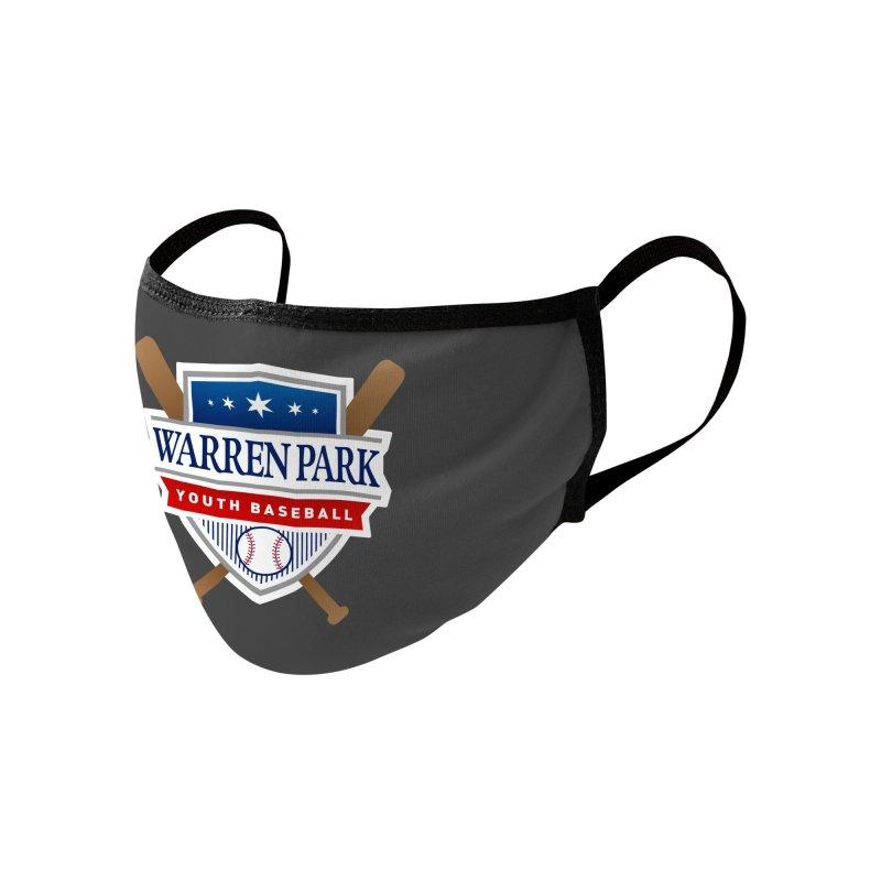 Warren Park Youth Baseball Logo - Full Color Accessories Face Mask by Warren Park Youth Baseball, Rogers Park Chicago