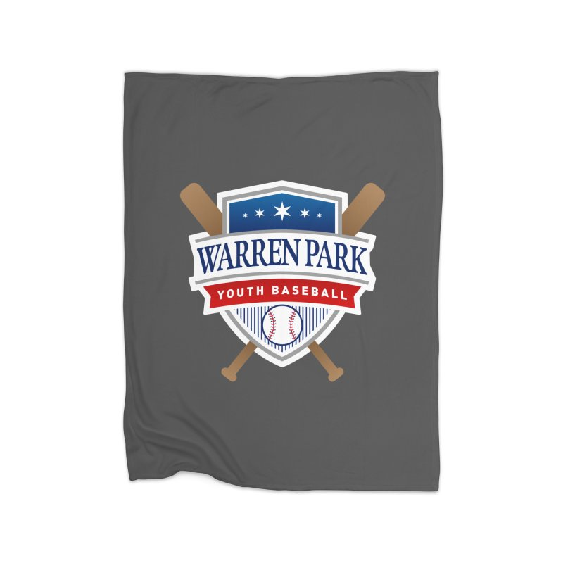 Warren Park Youth Baseball Logo - Full Color Home Fleece Blanket Blanket by Warren Park Youth Baseball, Rogers Park Chicago