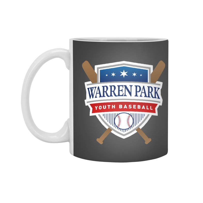 Warren Park Youth Baseball Logo - Full Color Accessories Standard Mug by Warren Park Youth Baseball, Rogers Park Chicago