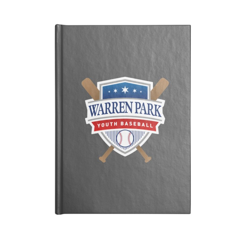 Warren Park Youth Baseball Logo - Full Color Accessories Lined Journal Notebook by Warren Park Youth Baseball, Rogers Park Chicago