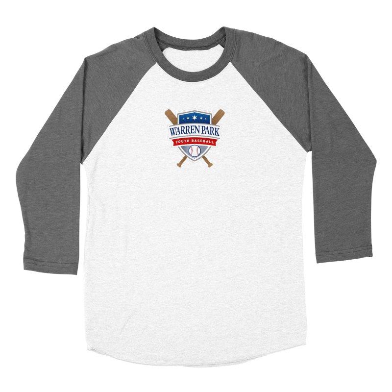 Warren Park Youth Baseball Logo - Full Color Women's Longsleeve T-Shirt by Warren Park Youth Baseball, Rogers Park Chicago
