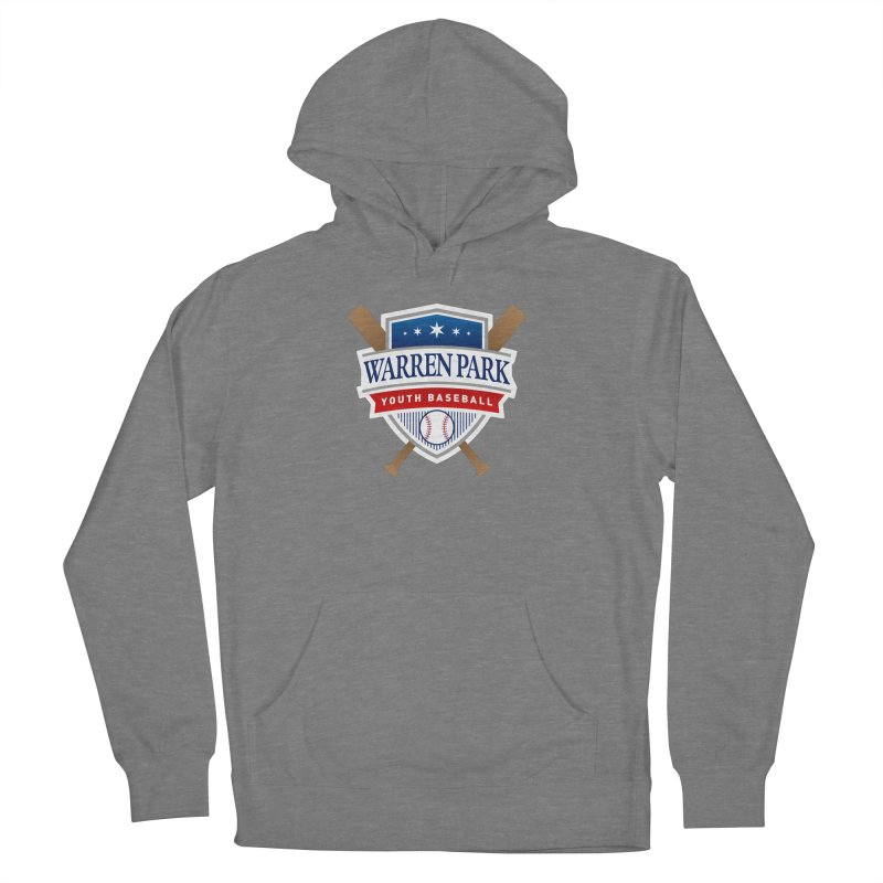 Warren Park Youth Baseball Logo - Full Color Women's French Terry Pullover Hoody by Warren Park Youth Baseball, Rogers Park Chicago