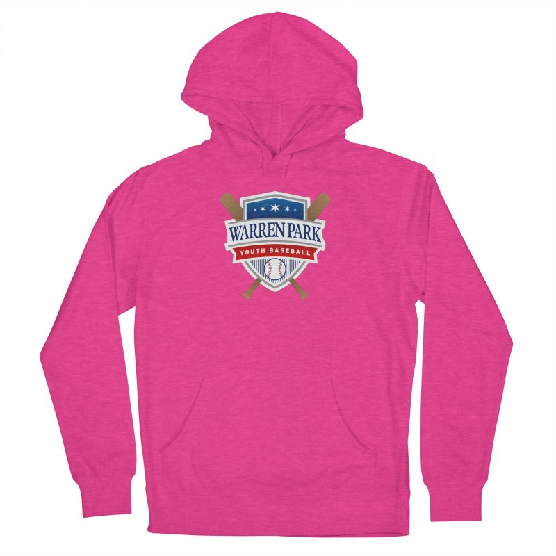 Warren Park Youth Baseball Logo - Full Color Men's French Terry Pullover Hoody by Warren Park Youth Baseball, Rogers Park Chicago