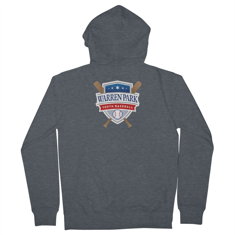 Warren Park Youth Baseball Logo - Full Color Men's French Terry Zip-Up Hoody by Warren Park Youth Baseball, Rogers Park Chicago