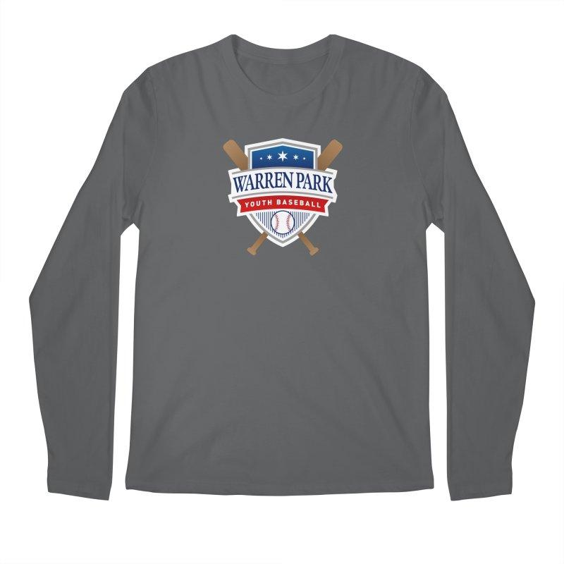 Warren Park Youth Baseball Logo - Full Color Men's Regular Longsleeve T-Shirt by Warren Park Youth Baseball, Rogers Park Chicago