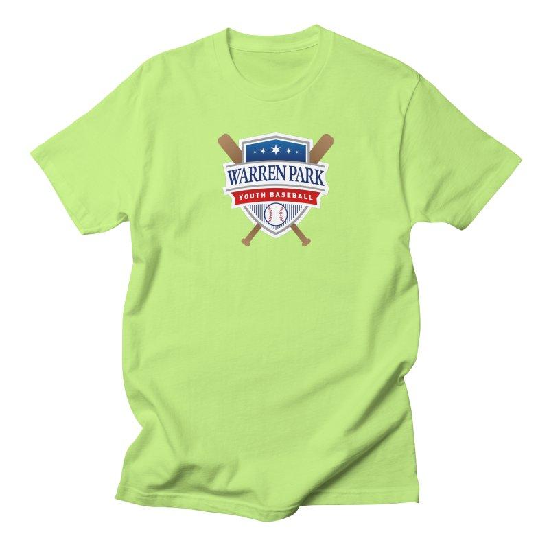 Warren Park Youth Baseball Logo - Full Color Women's Regular Unisex T-Shirt by Warren Park Youth Baseball, Rogers Park Chicago