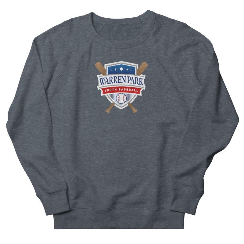 Warren Park Youth Baseball Logo - Full Color Women's French Terry Sweatshirt by Warren Park Youth Baseball, Rogers Park Chicago
