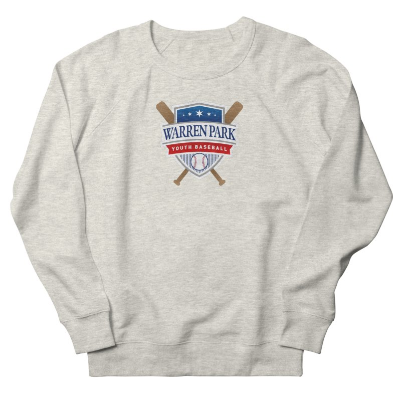 Warren Park Youth Baseball Logo - Full Color Women's French Terry Sweatshirt by Warren Park Youth Baseball, Rogers Park Chicago