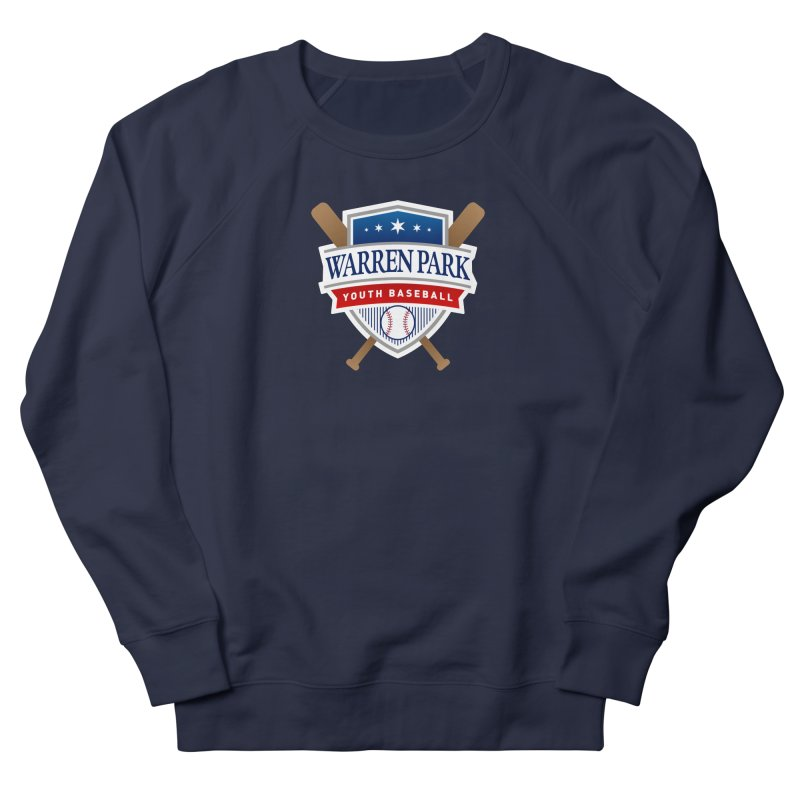 Warren Park Youth Baseball Logo - Full Color Men's French Terry Sweatshirt by Warren Park Youth Baseball, Rogers Park Chicago