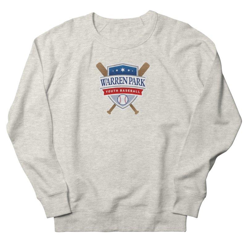 Warren Park Youth Baseball Logo - Full Color Men's French Terry Sweatshirt by Warren Park Youth Baseball, Rogers Park Chicago