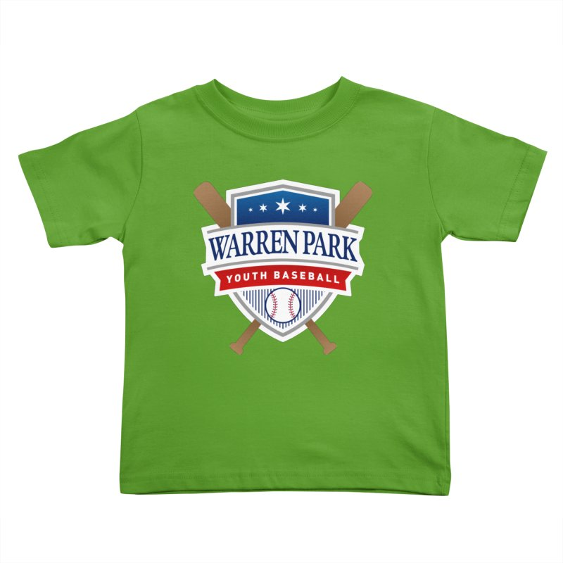 Warren Park Youth Baseball Logo - Full Color Kids Toddler T-Shirt by Warren Park Youth Baseball, Rogers Park Chicago