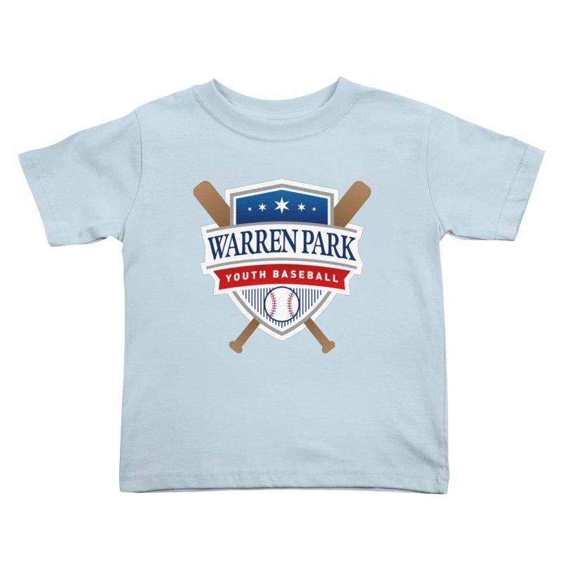 Warren Park Youth Baseball Logo - Full Color Kids Toddler T-Shirt by Warren Park Youth Baseball, Rogers Park Chicago