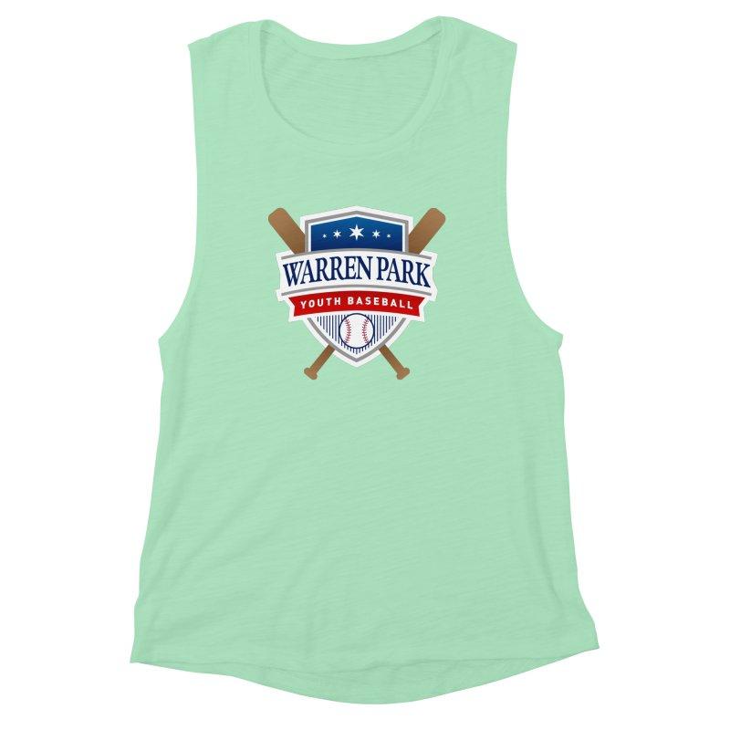 Warren Park Youth Baseball Logo - Full Color Women's Tank by Warren Park Youth Baseball, Rogers Park Chicago