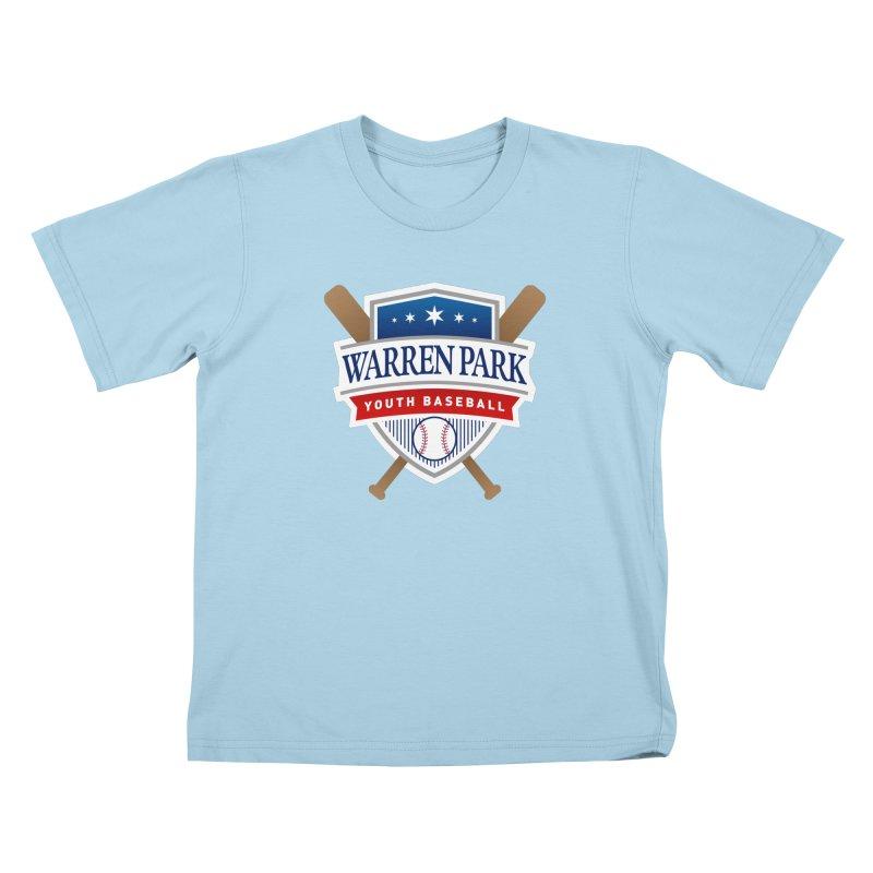 Warren Park Youth Baseball Logo - Full Color Kids T-Shirt by Warren Park Youth Baseball, Rogers Park Chicago
