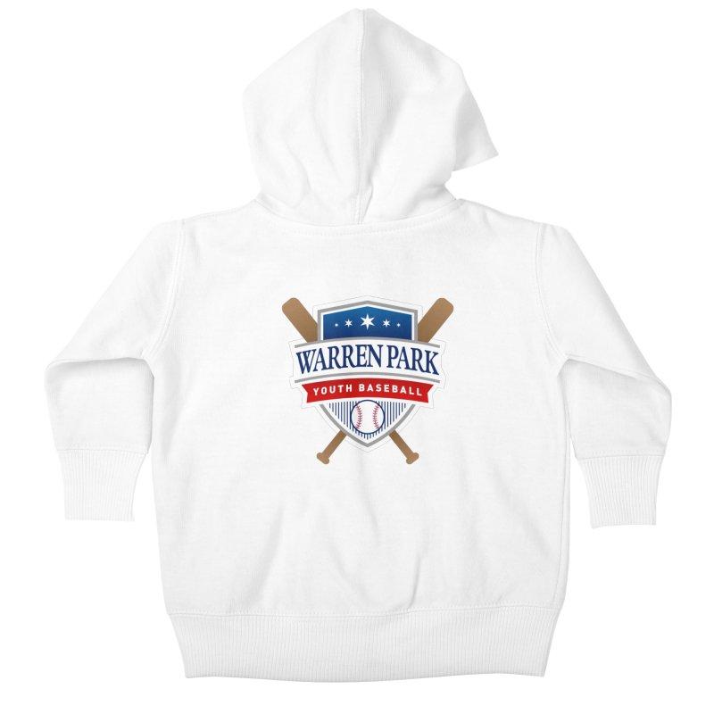 Warren Park Youth Baseball Logo - Full Color Kids Baby Zip-Up Hoody by Warren Park Youth Baseball, Rogers Park Chicago