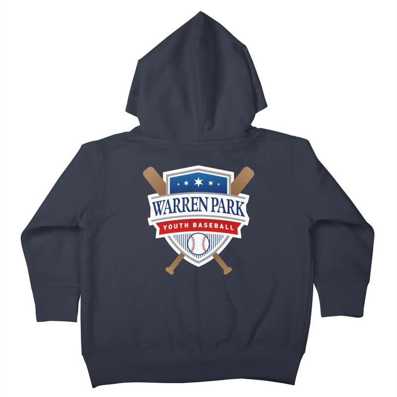 Warren Park Youth Baseball Logo - Full Color Kids Toddler Zip-Up Hoody by Warren Park Youth Baseball, Rogers Park Chicago