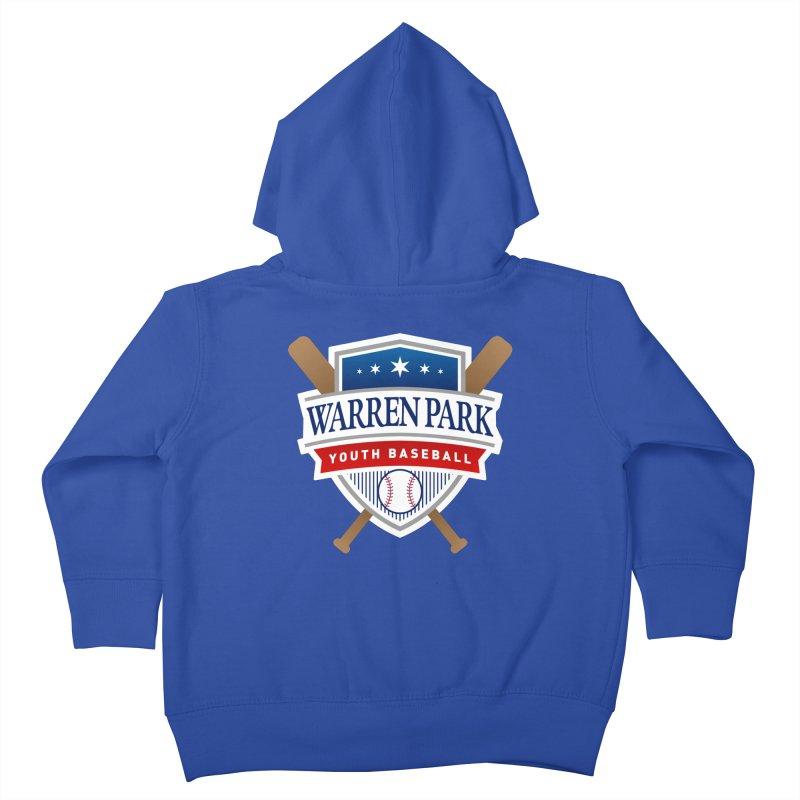 Warren Park Youth Baseball Logo - Full Color Kids Toddler Zip-Up Hoody by Warren Park Youth Baseball, Rogers Park Chicago