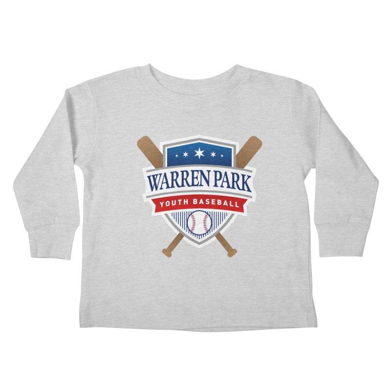 Warren Park Youth Baseball Logo - Full Color Kids Toddler Longsleeve T-Shirt by Warren Park Youth Baseball, Rogers Park Chicago