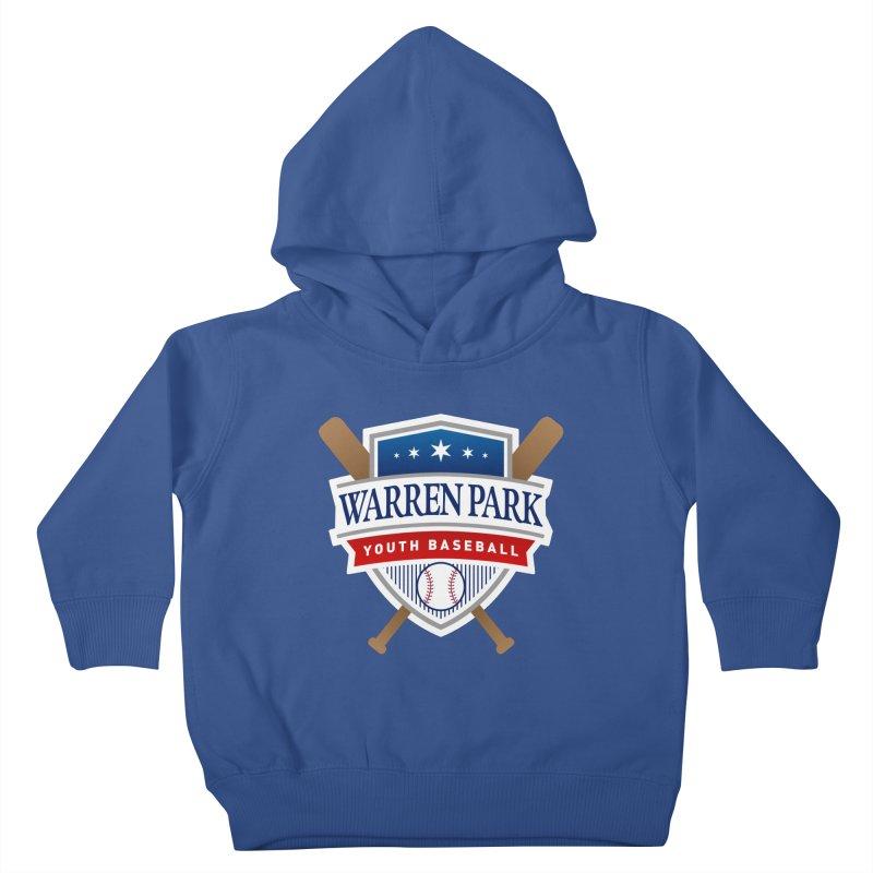 Warren Park Youth Baseball Logo - Full Color Kids Toddler Pullover Hoody by Warren Park Youth Baseball, Rogers Park Chicago