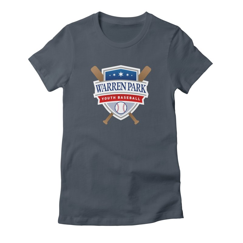 Warren Park Youth Baseball Logo - Full Color Women's T-Shirt by Warren Park Youth Baseball, Rogers Park Chicago