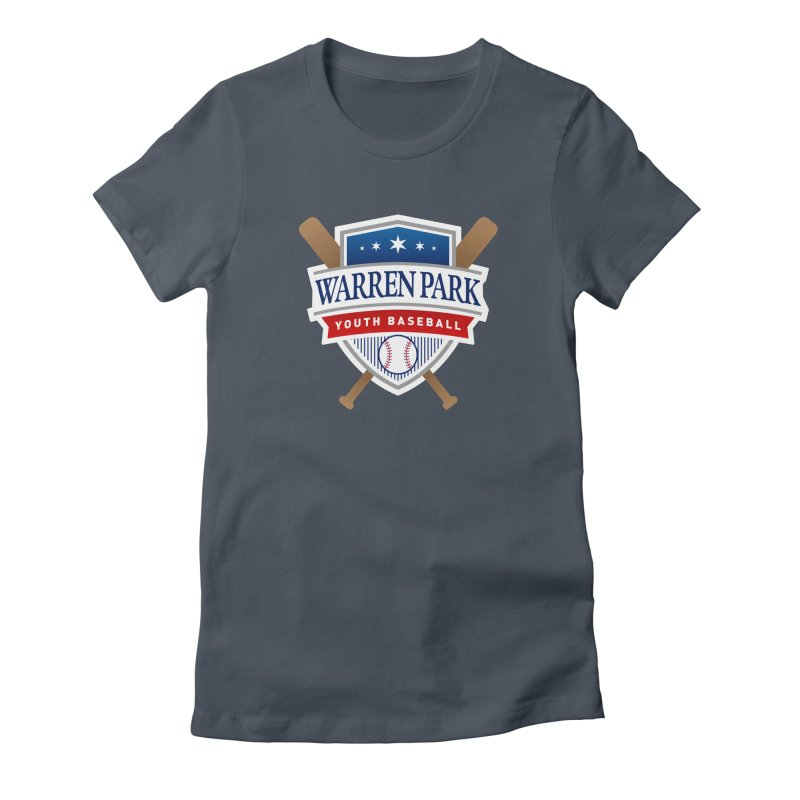 Warren Park Youth Baseball Logo - Full Color Women's T-Shirt by Warren Park Youth Baseball, Rogers Park Chicago