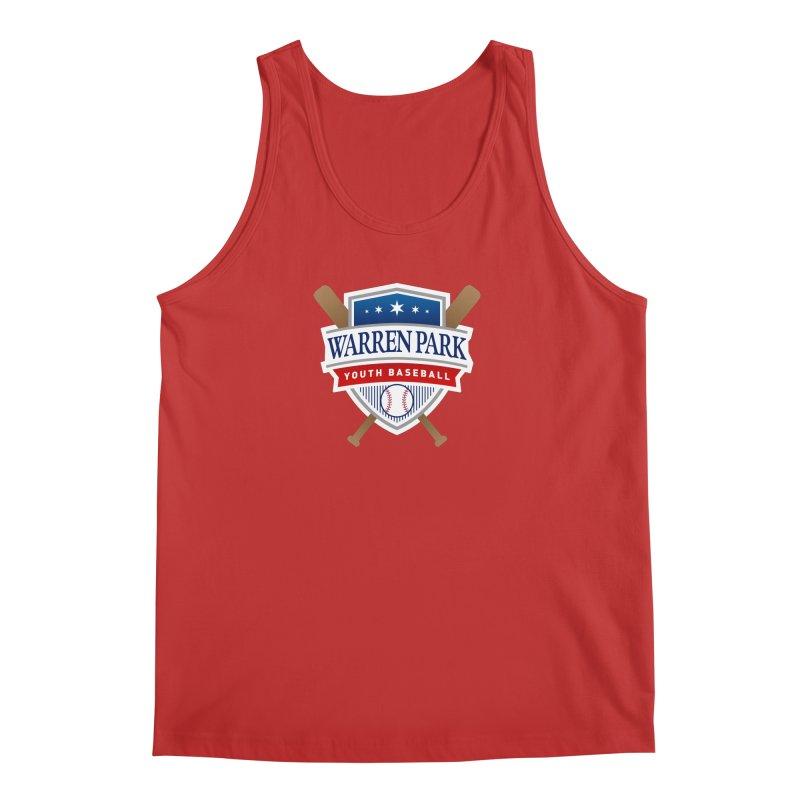 Warren Park Youth Baseball Logo - Full Color Men's Regular Tank by Warren Park Youth Baseball, Rogers Park Chicago