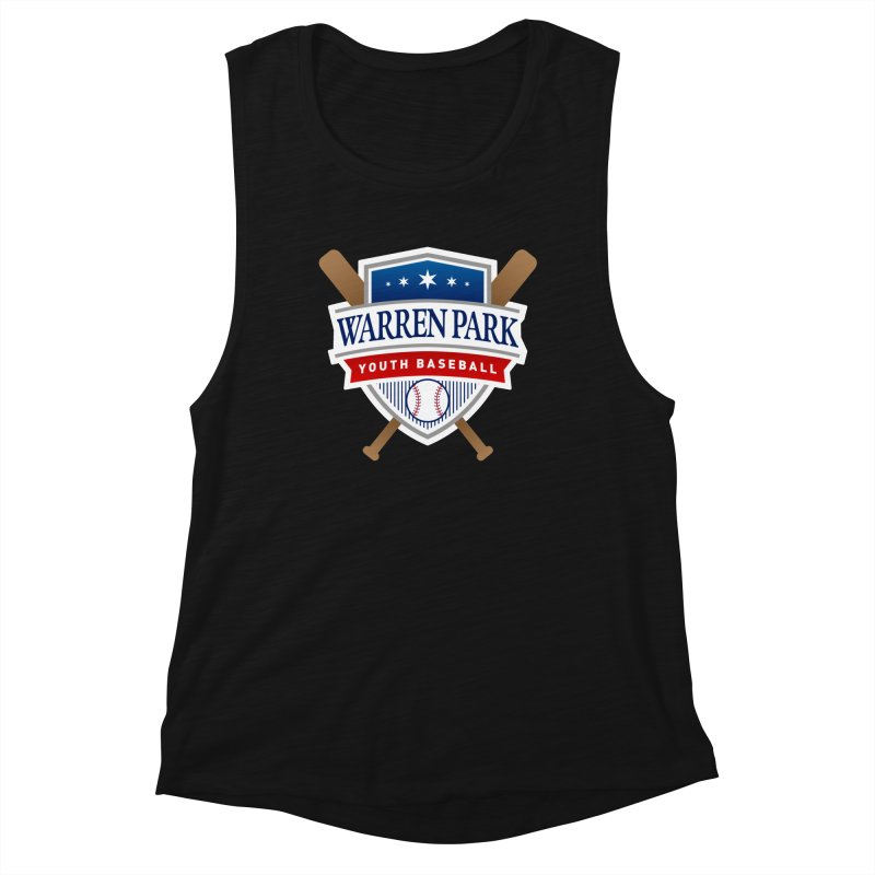 Warren Park Youth Baseball Logo - Full Color Women's Tank by Warren Park Youth Baseball, Rogers Park Chicago