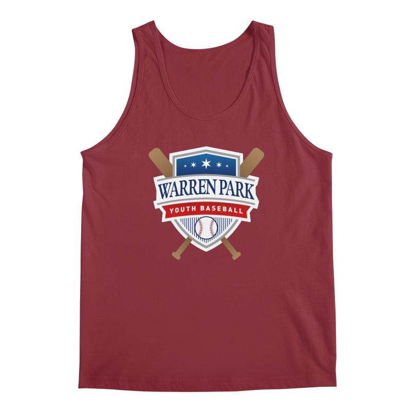 Warren Park Youth Baseball Logo - Full Color Men's Tank by Warren Park Youth Baseball, Rogers Park Chicago